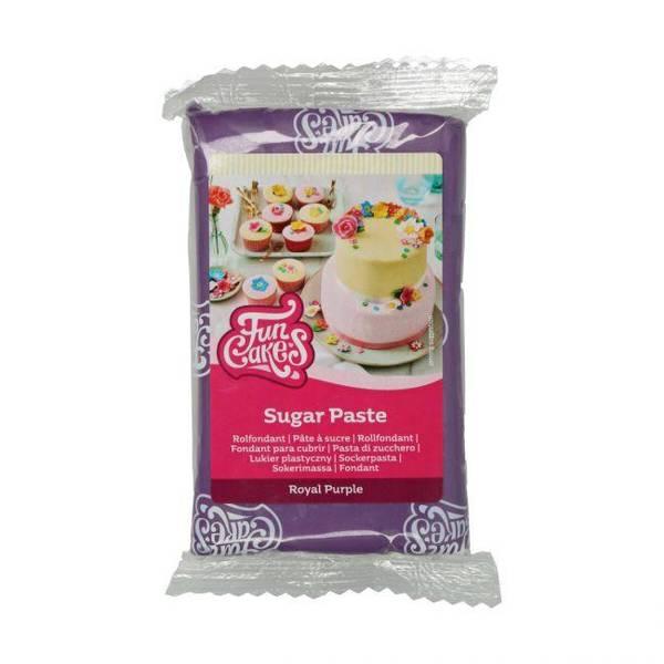 Bilde av Sukkerpasta, Royal Purple, 250g