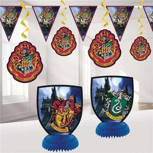 Bilde av Harry Potter, Dekorasjonspakke, 7 deler