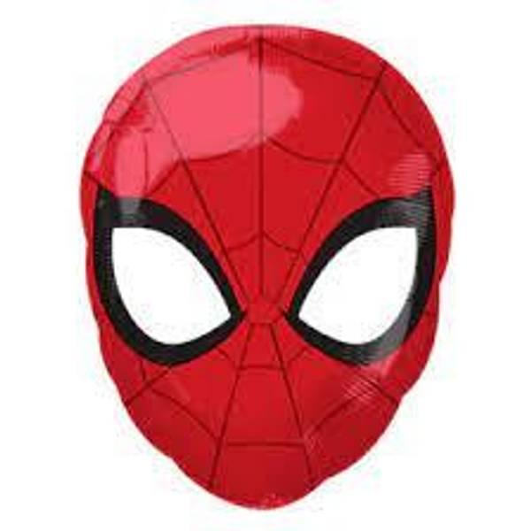 Bilde av Spiderman Ansikt Folieballong 30x43 cm