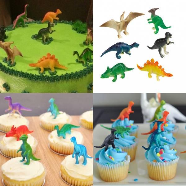 Bilde av Dinosaur Figurer 2, 8 stk