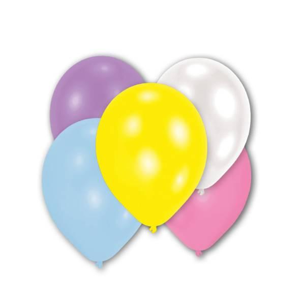 Bilde av Store  Ballonger I Lyse Farger, 10 stk
