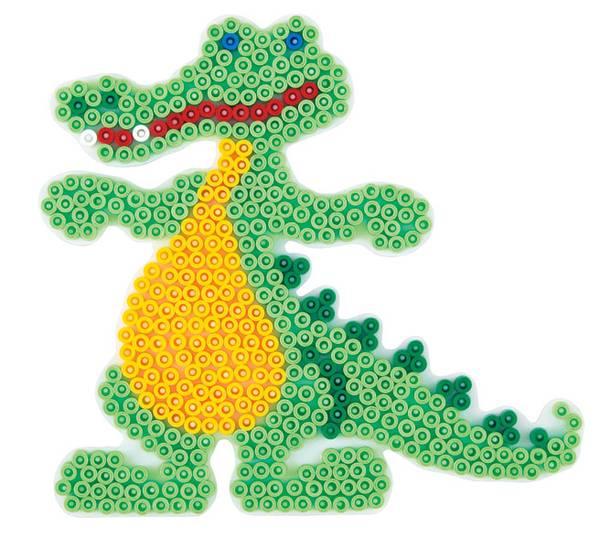 Bilde av Perleplate MIDI – Krokodile
