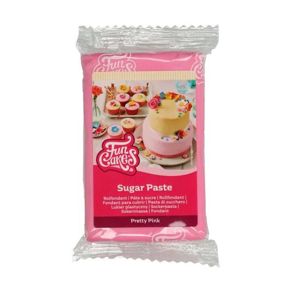 Bilde av Sukkerpasta, Pretty Pink, 250g