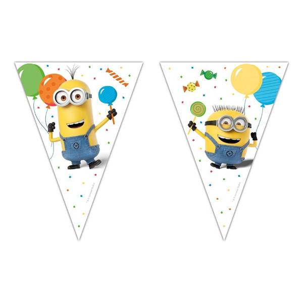 Bilde av Minions Balloon Party Flaggbanner, 2,3m