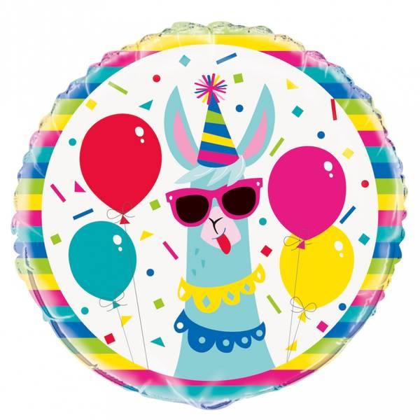 Bilde av Llama , Folieballong, 46cm