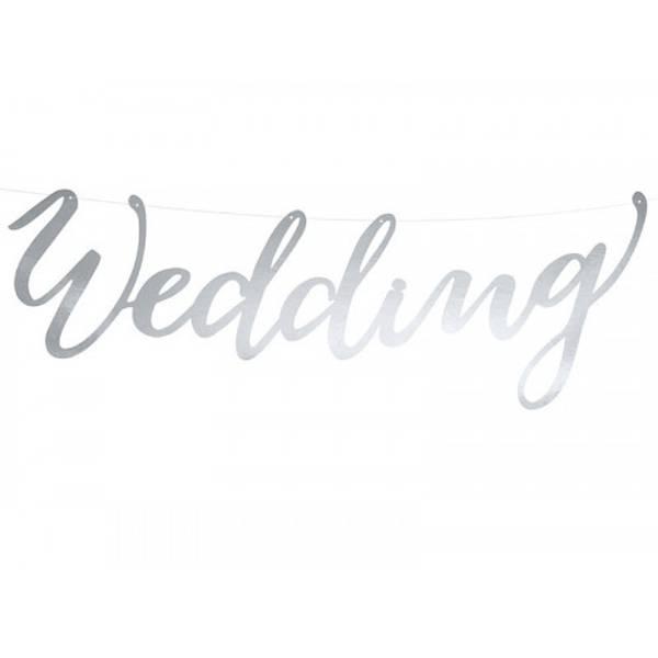 Bilde av Wedding banner, sølv