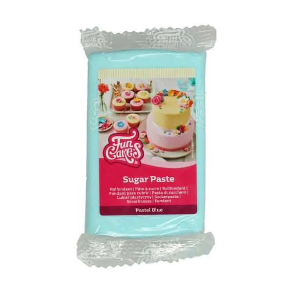 Bilde av Sukkerpasta, Pastel Blue, 250g