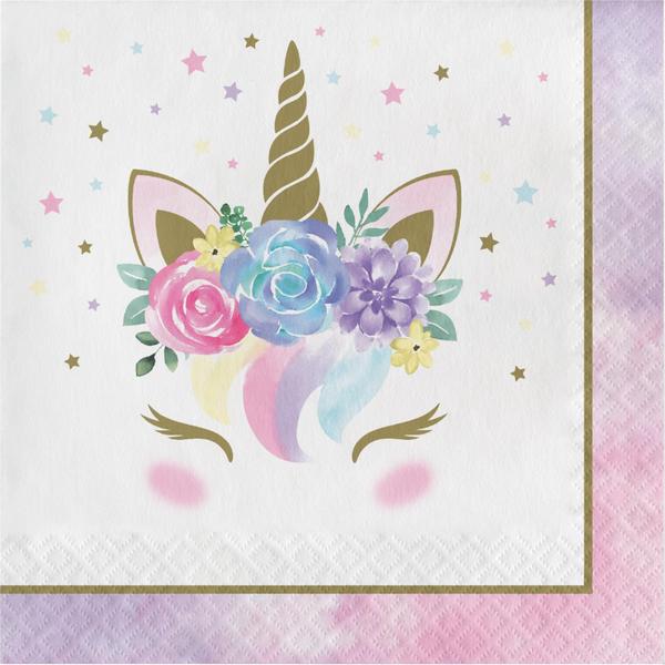 Bilde av Unicorn Baby, Servietter, 16 stk