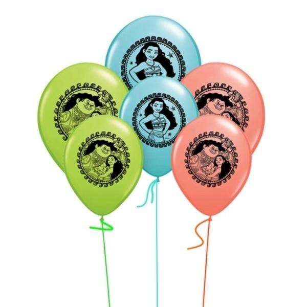 Bilde av Vaiana ballonger, 10 stk