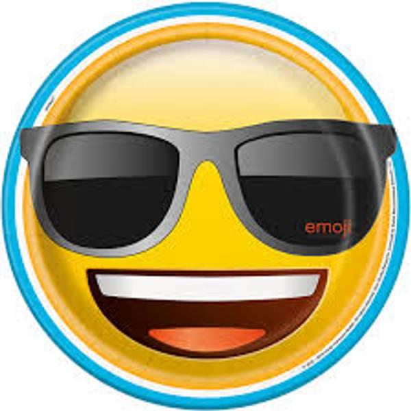 Bilde av Emoji, Tallerkener , 8stk