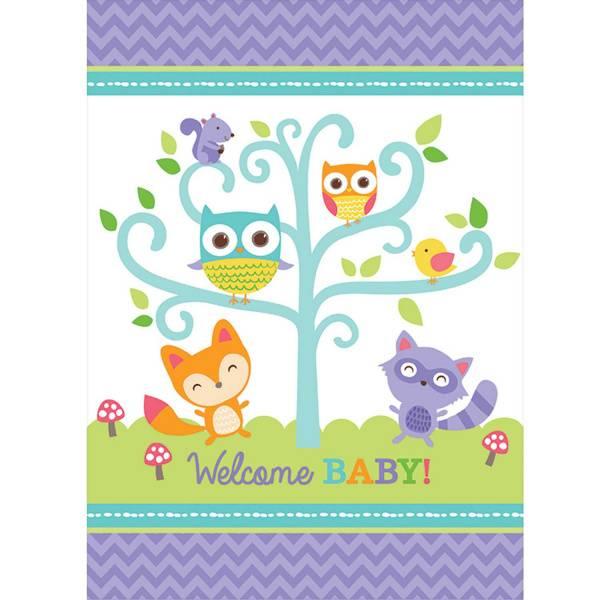 Bilde av Welcome baby, plastikkduk