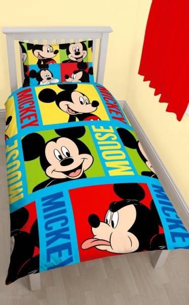 Bilde av Mikke mus fargerikt sengetøy