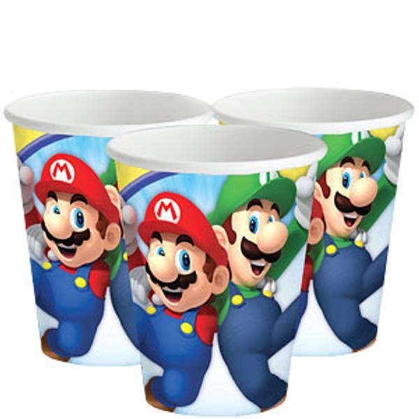Bilde av Super Mario, Kopper, 8 stk