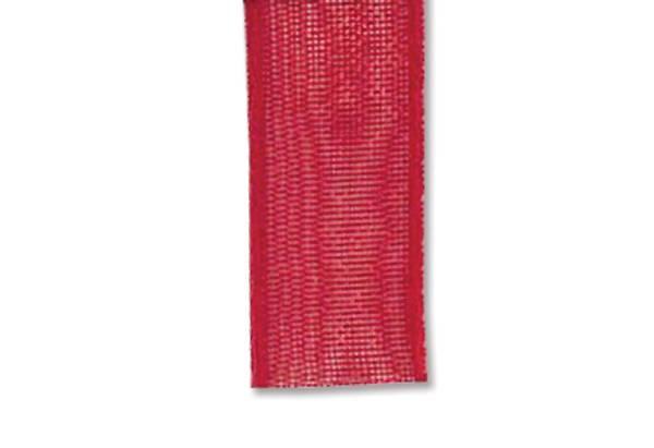 Bilde av Organza bånd 10mm – 01 Rød – 1meter