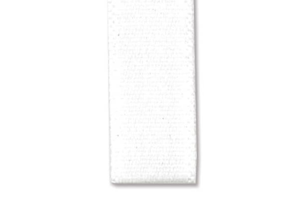 Bilde av Satinbånd 25mm – 01 Hvit – 1meter