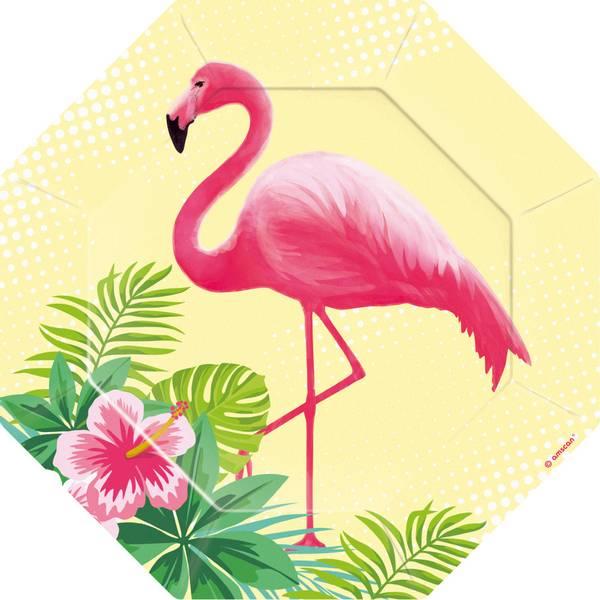Bilde av Flamingo, Asjett 6 stk