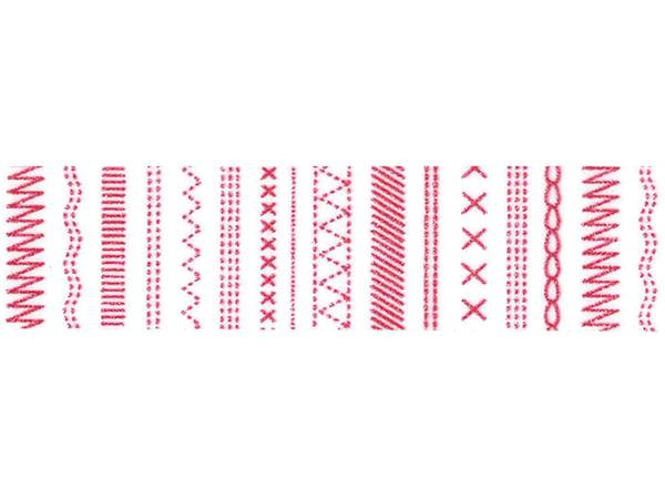 Bilde av Washi tape Rødt mønster på hvitt