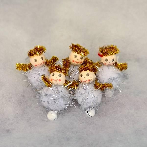 Bilde av Hobbypakke Jul, Engler med Bjelle