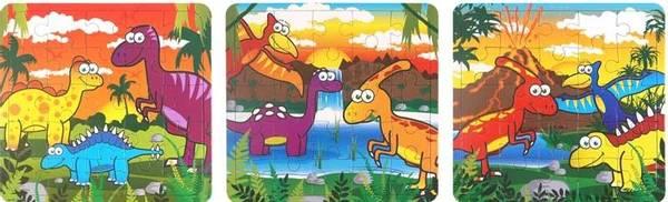 Bilde av Dinosaur Puslespill
