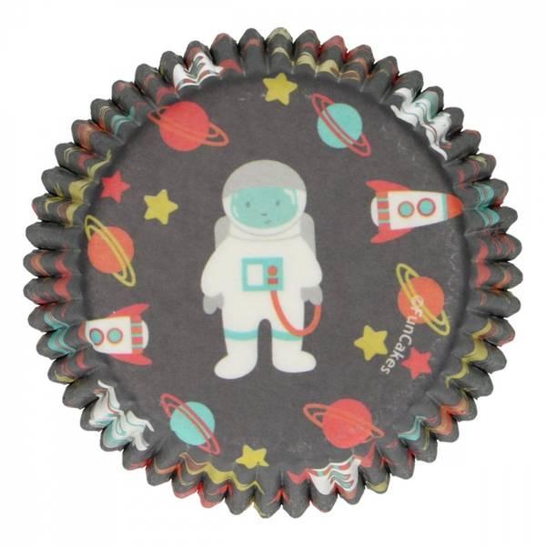 Bilde av Astronaut, Muffinsformer, 48 st