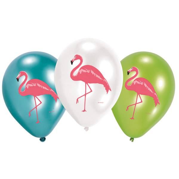 Bilde av Flamingo, Ballonger 6 stk