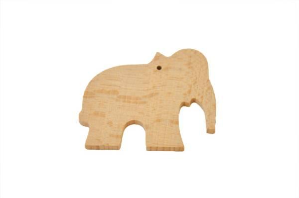 Bilde av Trefigur elefant 6cm