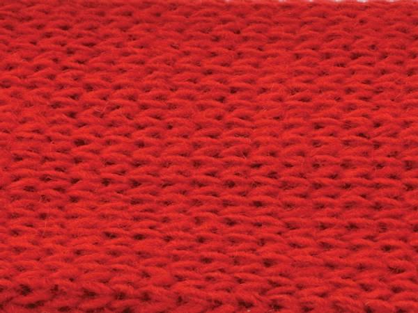 Bilde av Tubestrikk 4cm – Rød – 50 cm