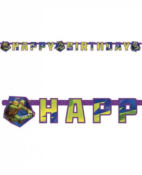 Bilde av Ninja Turtles, Happy Birthday Banner