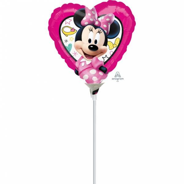 Bilde av Minnie Mus, Folieballong, Hjerteformet