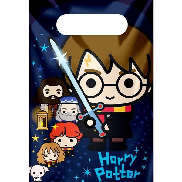 Bilde av Magiske Harry Potter, Godteposer, 8 stk