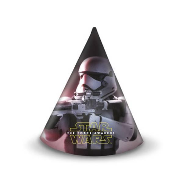 Bilde av Star Wars, Partyhatter, 6 stk