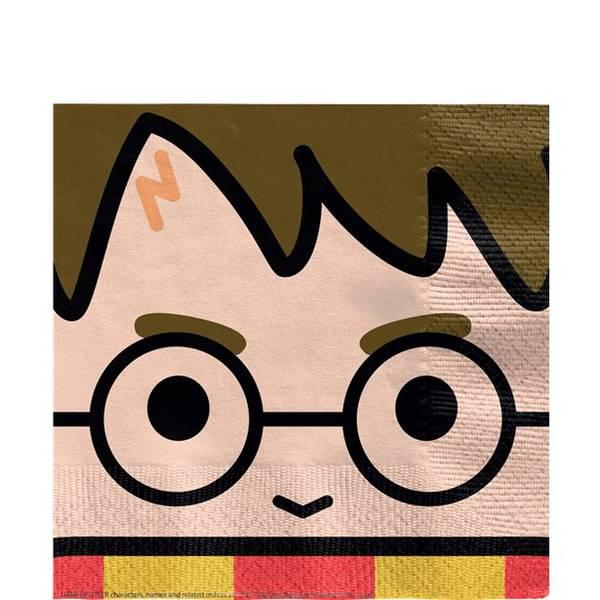 Bilde av Magiske Harry Potter, Servietter, 16 stk