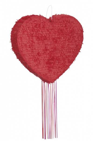Bilde av Rød Hjerte, Pinata
