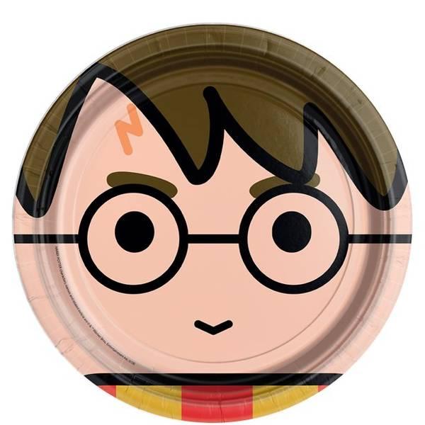 Bilde av Magiske Harry Potter, Tallerker, 8 stk