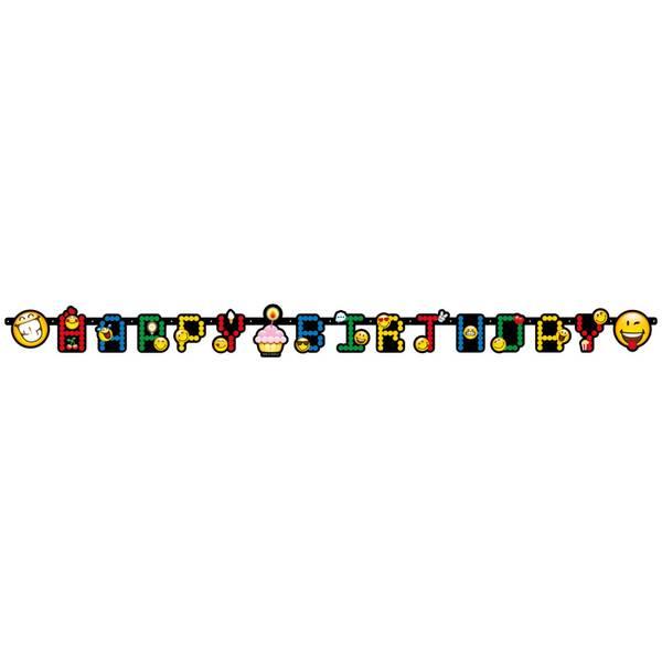Bilde av Emoji Banner Happy Birthday 2