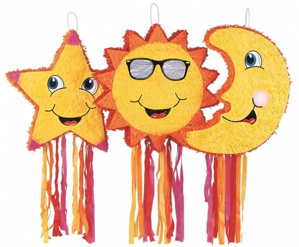 Bilde av Sol, Måne og Stjerne, Pinata
