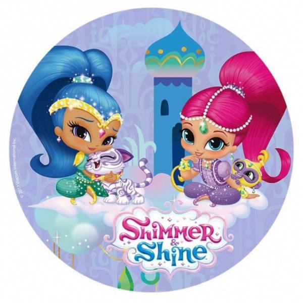Bilde av Shimmer and Shine Kakebilde, 20 cm
