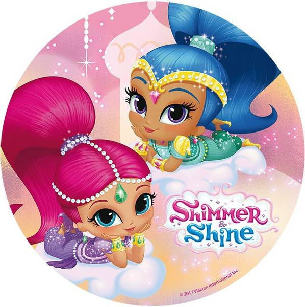Bilde av Shimmer and Shine Kakebilde 2, 20cm