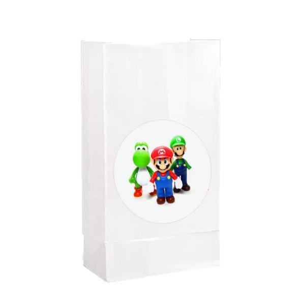 Bilde av Super Mario, Godteposer 2, 8stk