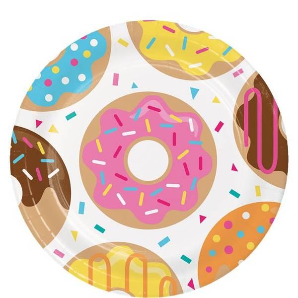 Bilde av Doughnut, Tallerker, 8 stk
