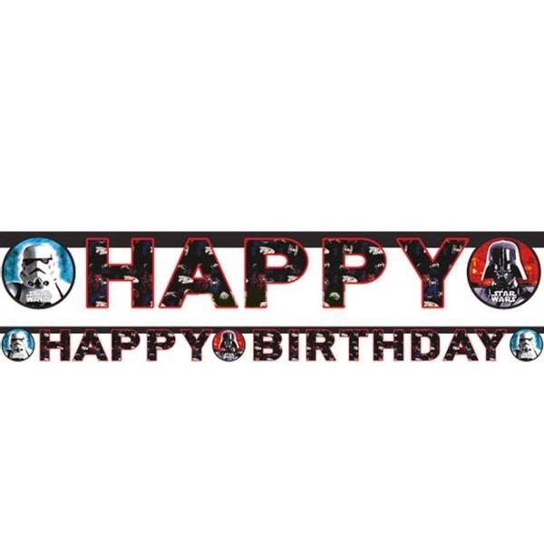 Bilde av Star Wars, Happy Birthday, banner