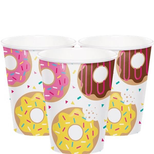 Bilde av Doughnut, Kopper, 8 stk