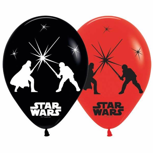 Bilde av Star Wars, Ballonger med LED lys!