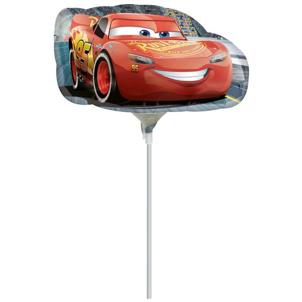 Bilde av Cars 3, Folieballong, Mini Shape