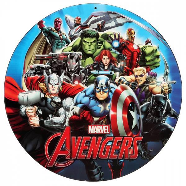 Bilde av Avengers, Kakebilde, 1, Sukkerpapir, 20 cm
