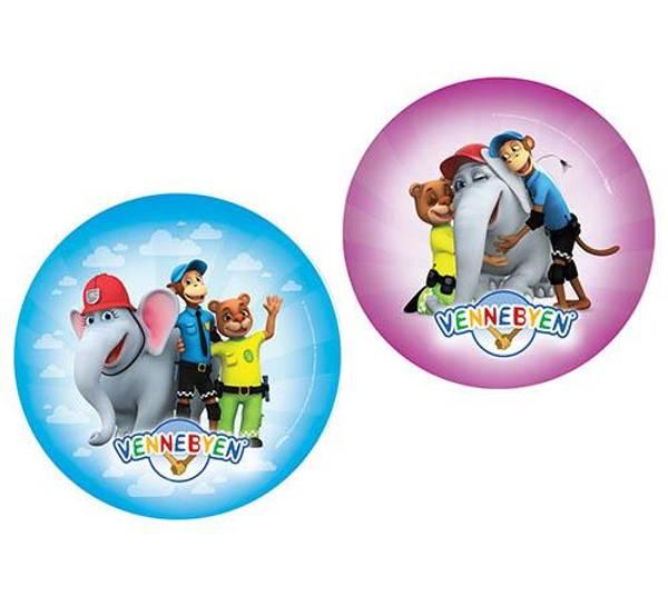 Bilde av Vennebyen, Folieballong 45cm