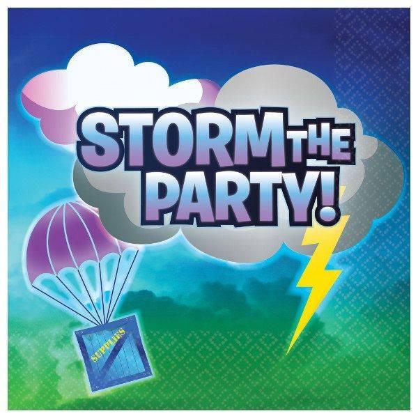 Bilde av Storm The Party, servietter, 16 stk
