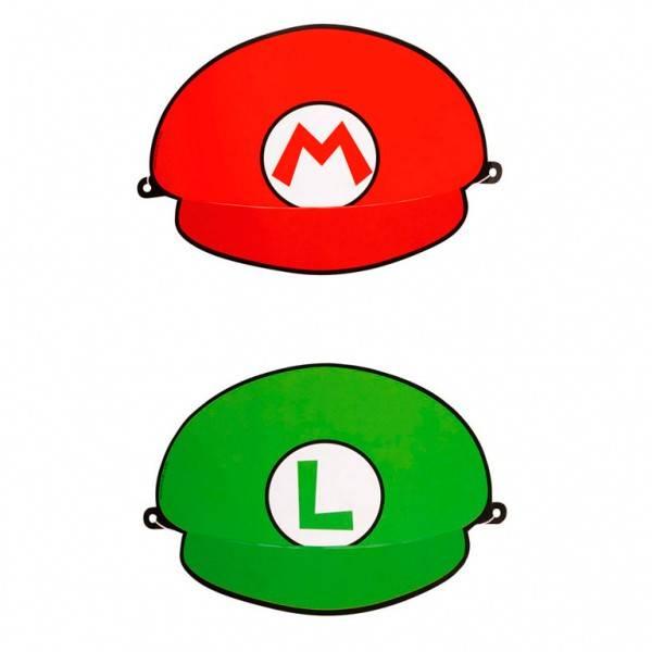 Bilde av Super Mario Og Luigi Hatter