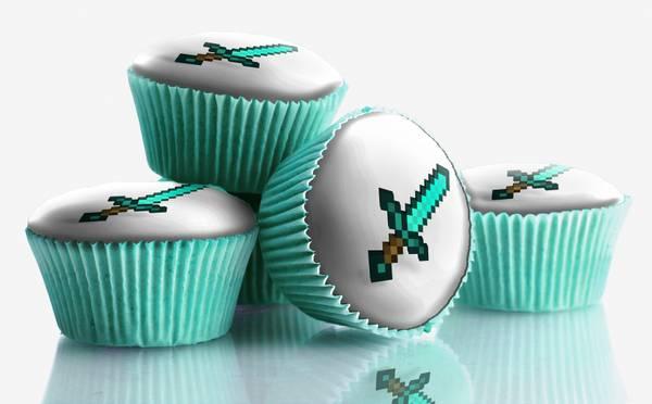 Bilde av Diamantsverd, Muffinsbilder, 12 stk