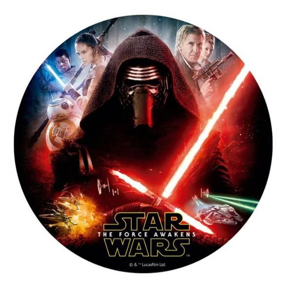 Bilde av Star Wars, Kakebilde 4, Sukkerpapir , 20 cm